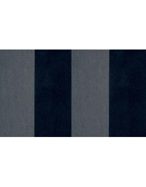 Flamant Les Rayures 18111 Stripe Velvet and Lin Black Tie