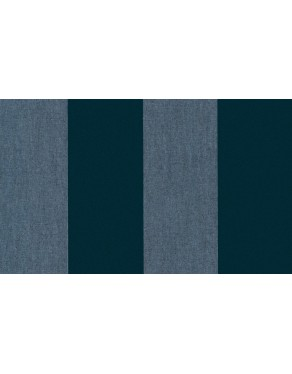 Flamant Les Rayures 18115 Stripe Velvet and Lin Midnight Blue