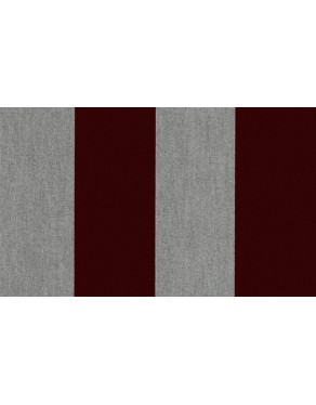 Flamant Les Rayures 18116 Stripe Velvet and Lin Eclipse