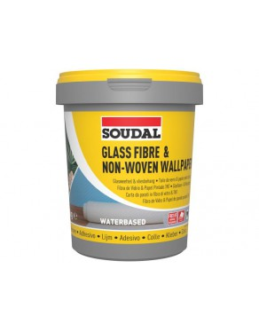 Soudal Glass Fibre & Non-Woven Wallpaper Adhesive 1Kg 29A 105688