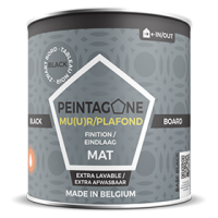 Peintagone Black Board