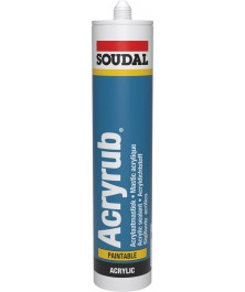 Soudal Acryrub white 310ml 102600